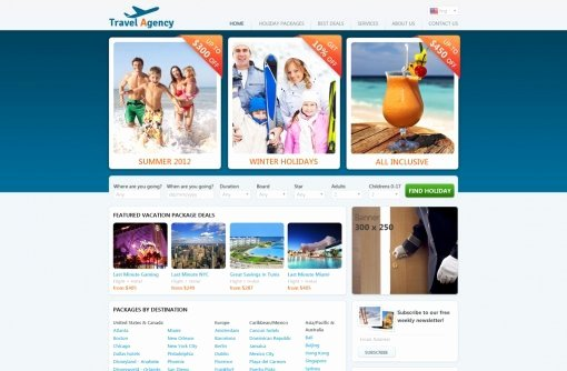 Travel Agency Website Template Unique Travel Website Template
