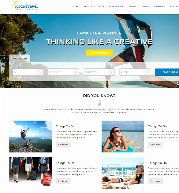 Travel Agent Website Template Awesome Best Premium Travel Agency Templates top Free themes for