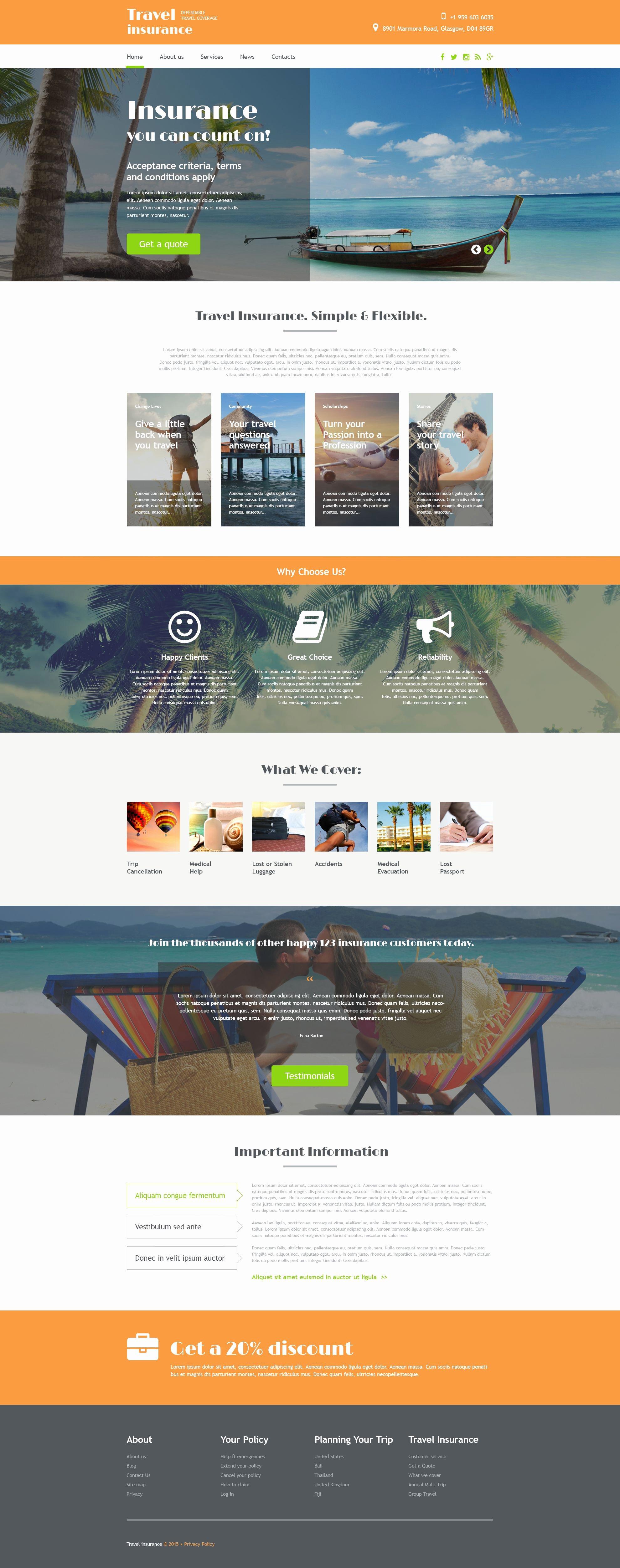 Travel Agent Website Template Elegant Travel Agency Web Template