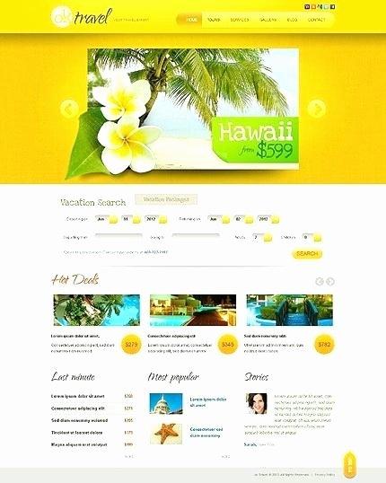 Travel Agent Website Template Fresh Travel Agency Website Design Template Travel Agency