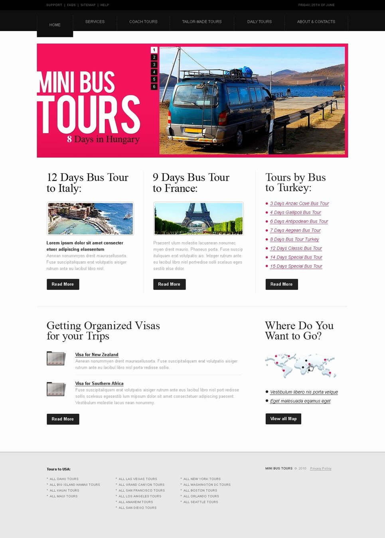Travel Agent Website Template Fresh Travel Agency Website Template