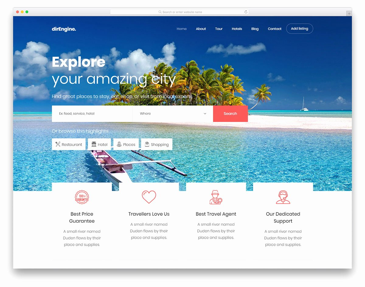 Travel Agent Website Template Inspirational 27 Free Travel Agency Website Templates with Premium