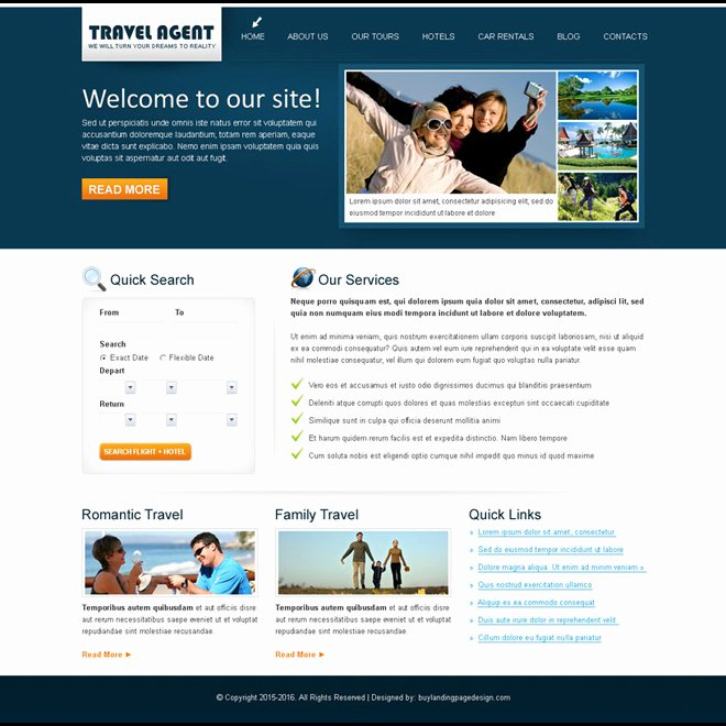 Travel Agent Website Template Inspirational Creative & Best Website Template Psd for Sale to Create