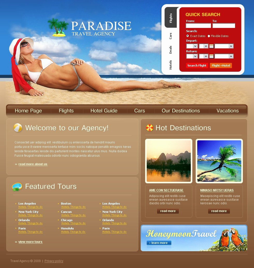 Travel Agent Website Template Luxury Travel Agency Website Template