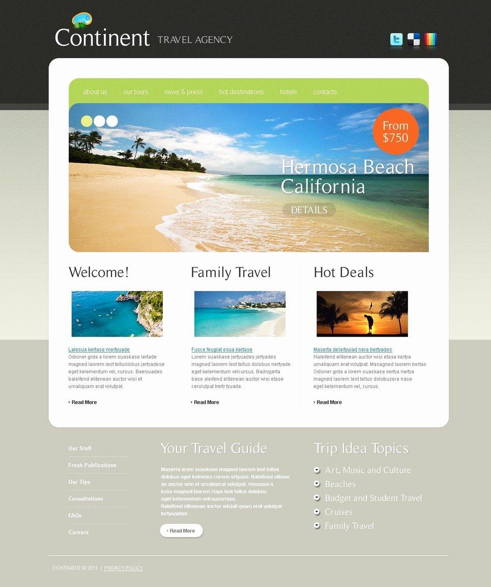 Travel Agent Website Template Luxury Travel Agency Website Template Web Design Templates