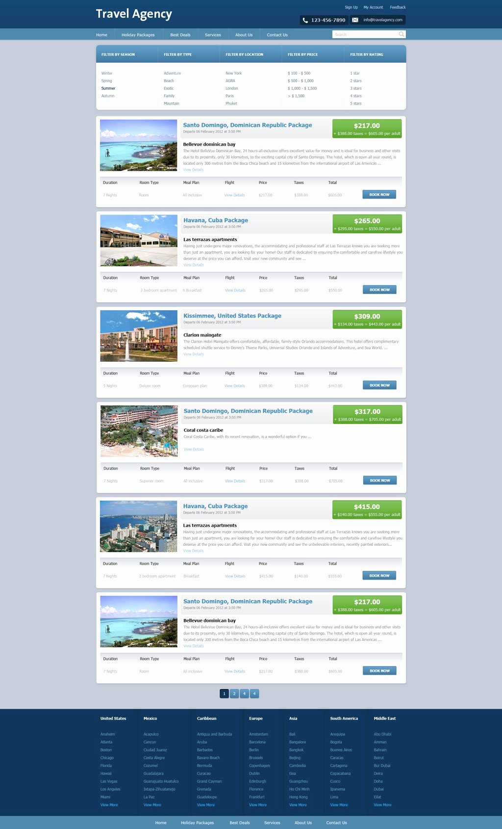 Travel Agent Website Template New Free Travel Agency Website Template