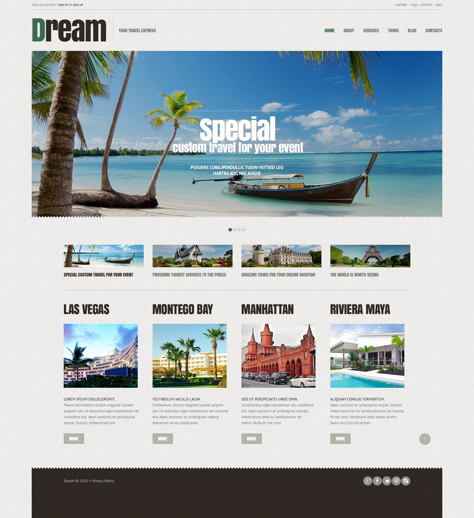 Travel Agent Website Template New Travel Agency Responsive Wordpress theme