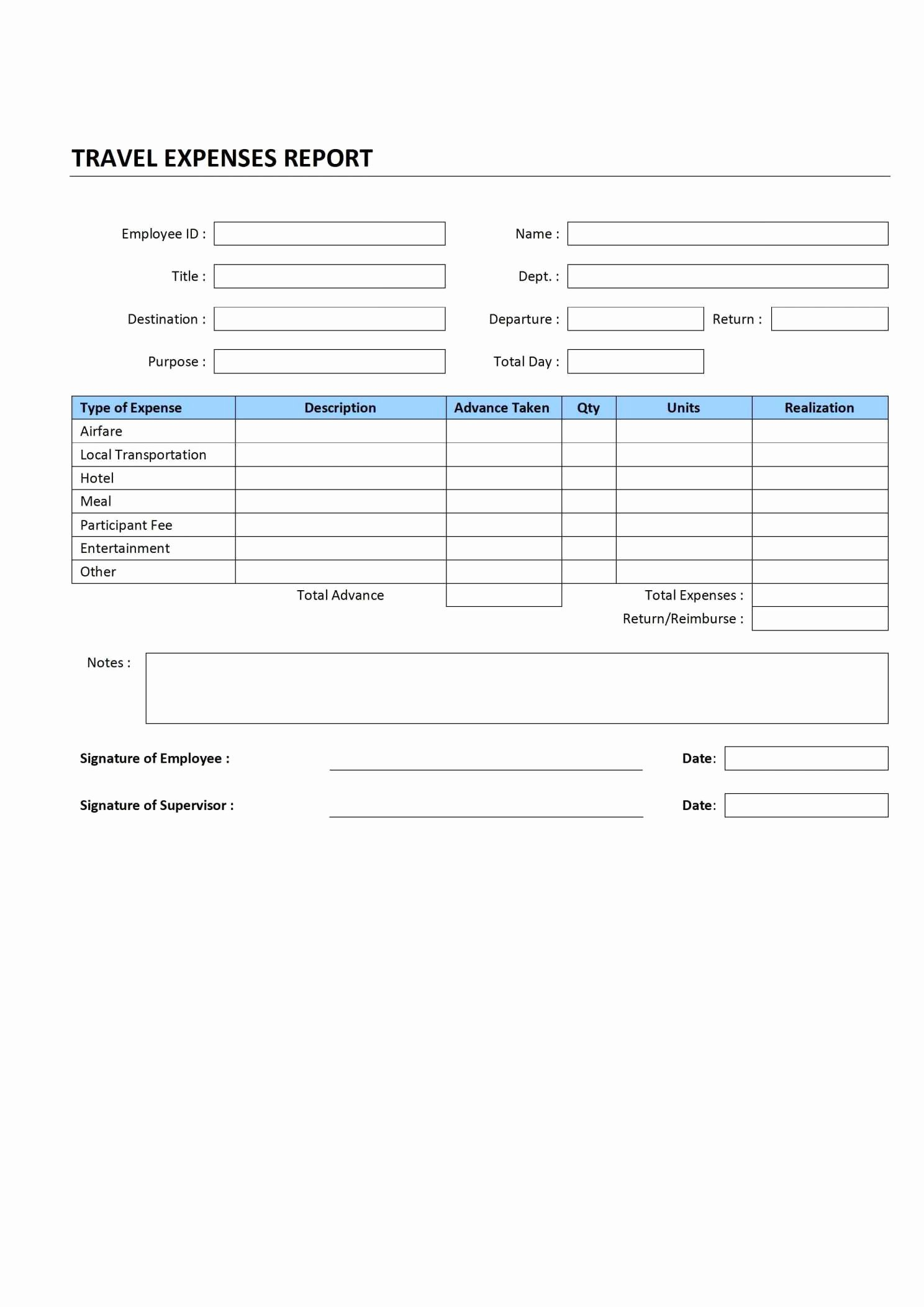 Travel Expense Report Template Excel Beautiful Excel Expenses Template Uk