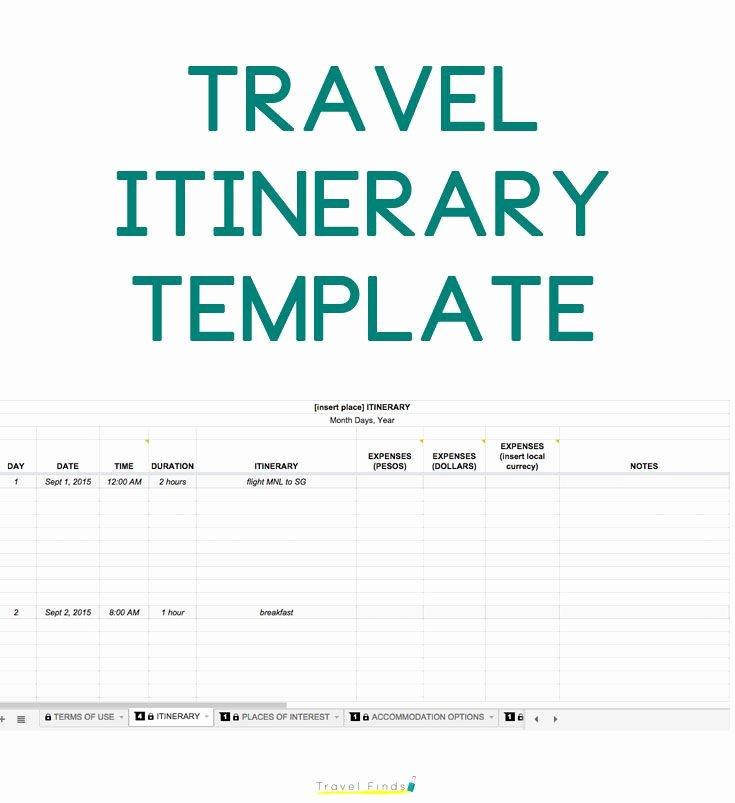 Travel Itinerary Template Google Docs Beautiful How to Plan A Trip Free Travel Itinerary Template