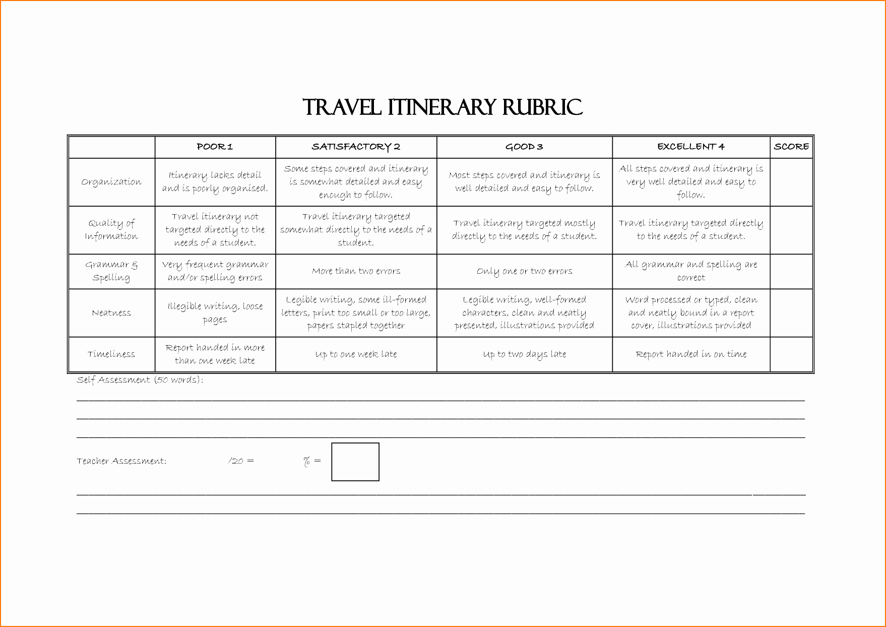 Travel Itinerary Template Word 2010 Beautiful Travel Itinerary Template Microsoft Word Business Excel