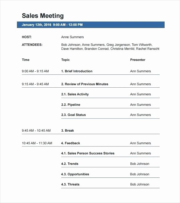 Travel Itinerary Template Word 2010 Inspirational Travel Itinerary Template Word 2010 Sales Meeting Agenda
