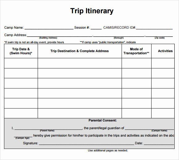Travel Itinerary Template Word Luxury Cruise Itinerary Template 9 Download Free Documents In