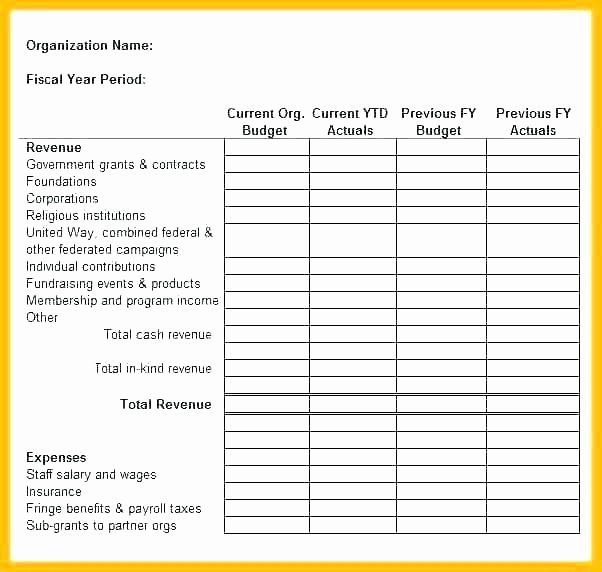 Treasurer Report Template Excel Best Of Treasurer Report Template Excel Bud Free Monthly