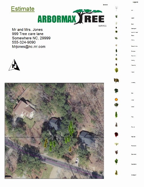 Tree Trimming Estimate Template Inspirational Best Tree Service In Fayetteville Expert Tree Removal