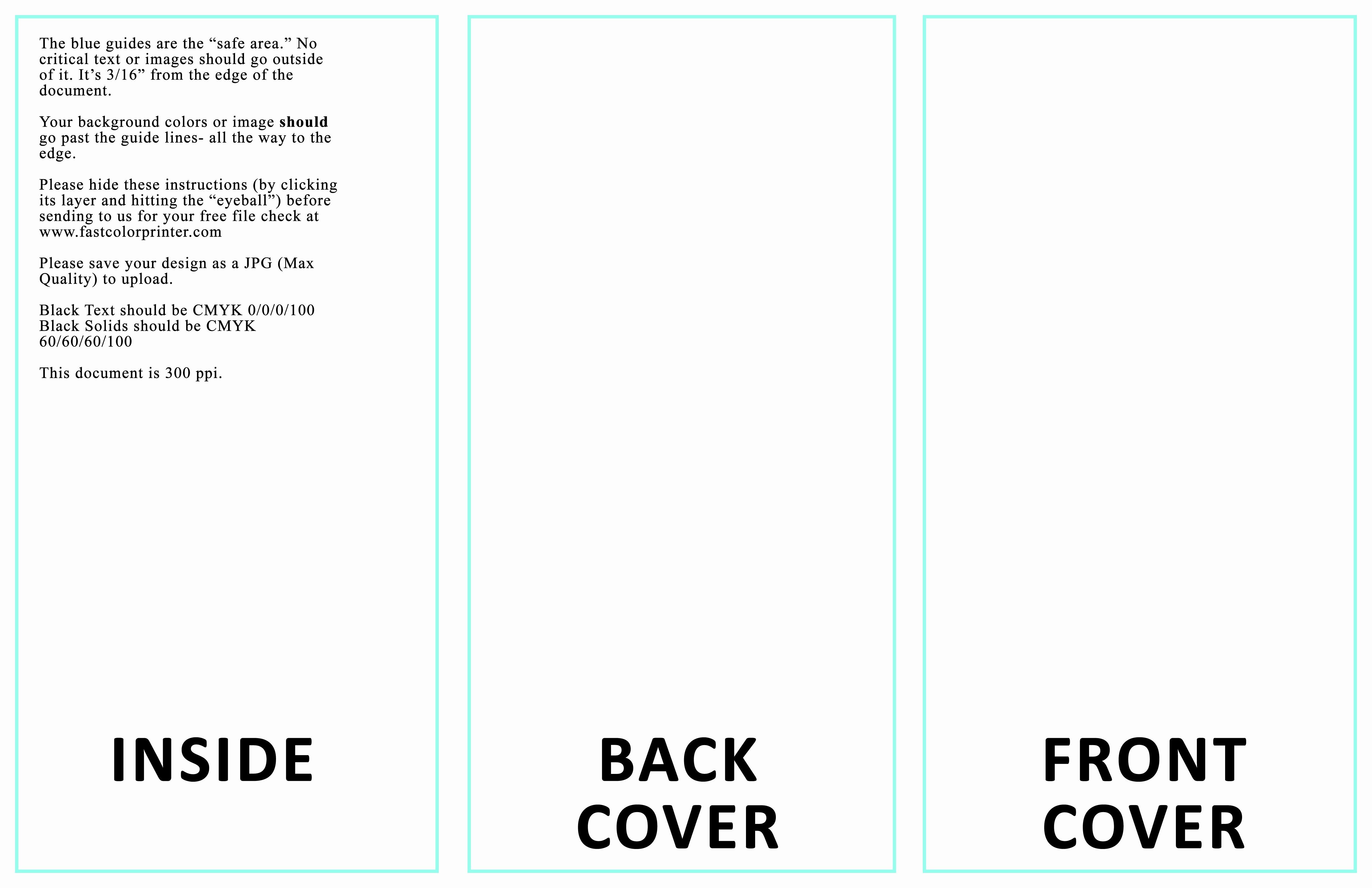 Tri Fold Brochure Free Template Awesome Microsoft Word Tri Fold Template Portablegasgrillweber