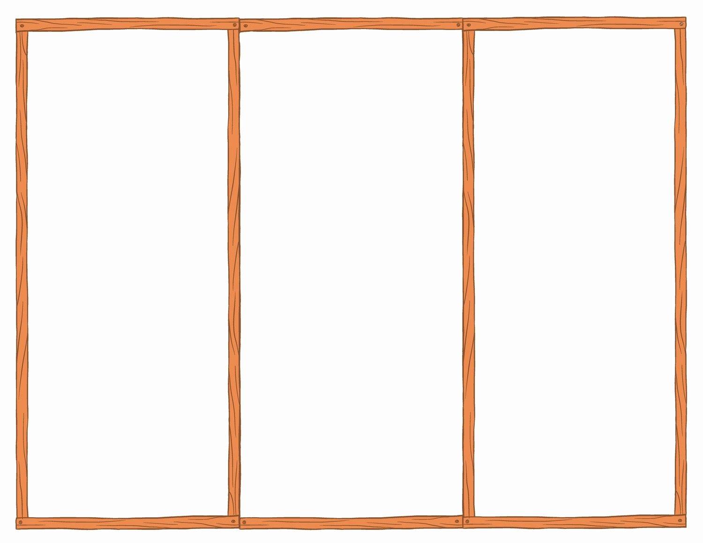 Tri Fold Brochure Free Template Beautiful Blank Tri Fold Brochure Template