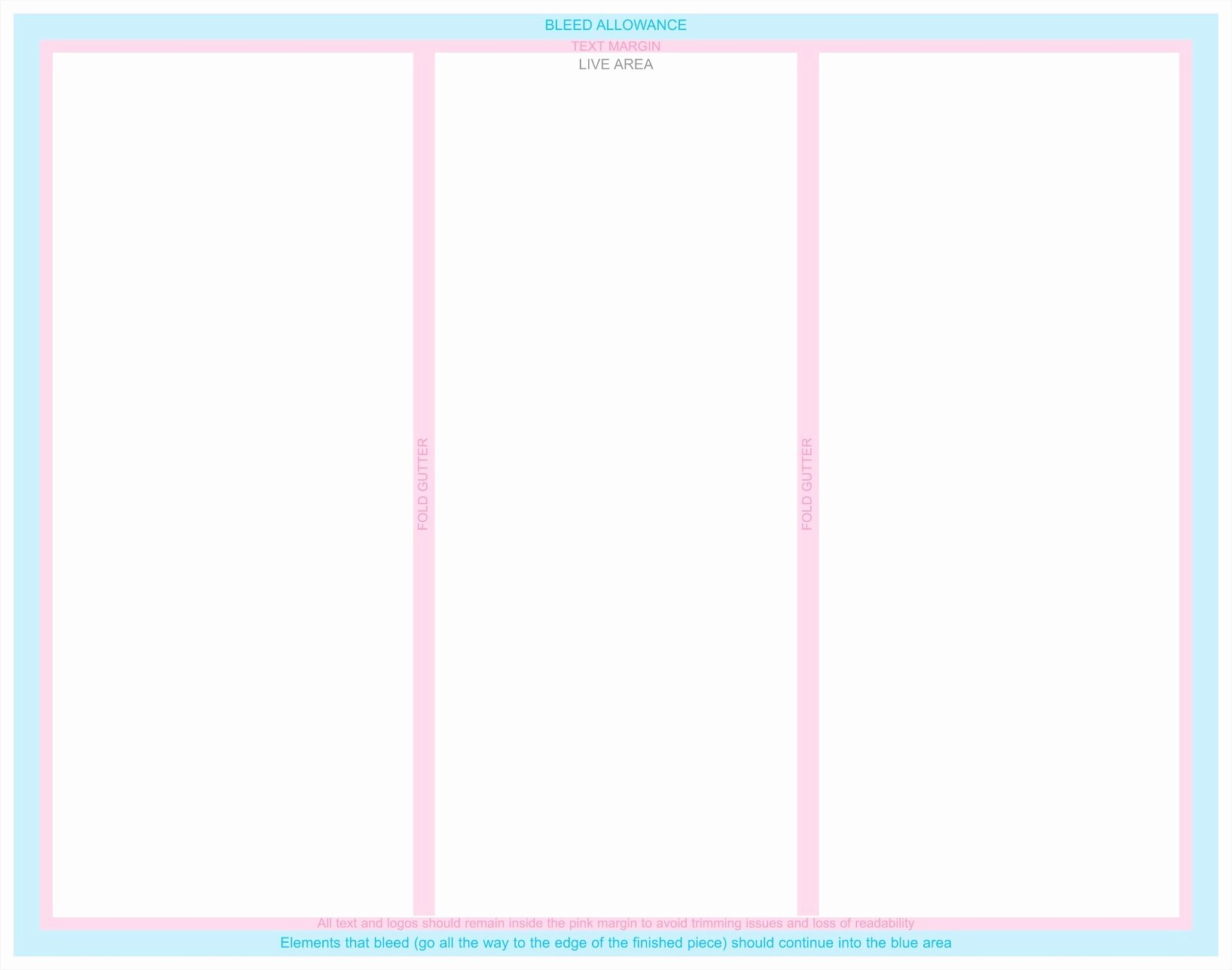 Tri Fold Brochure Free Template Best Of Blank Tri Fold Brochure Template Example Mughals
