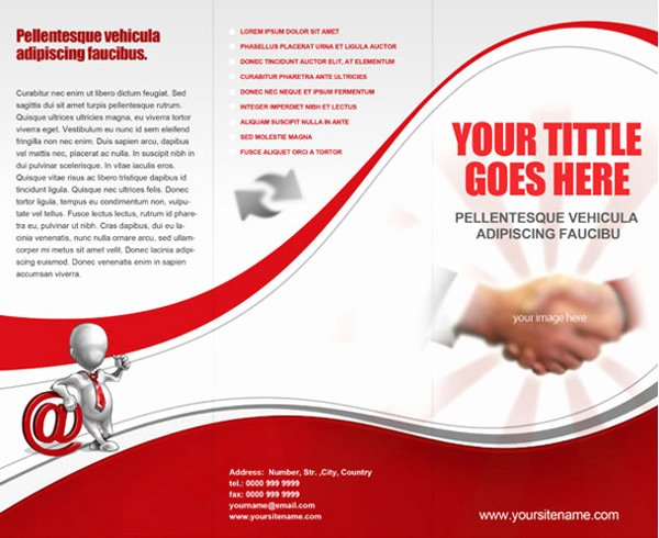 Tri Fold Brochure Free Template Elegant Free Three Fold Brochure Template Tri Fold Brochure