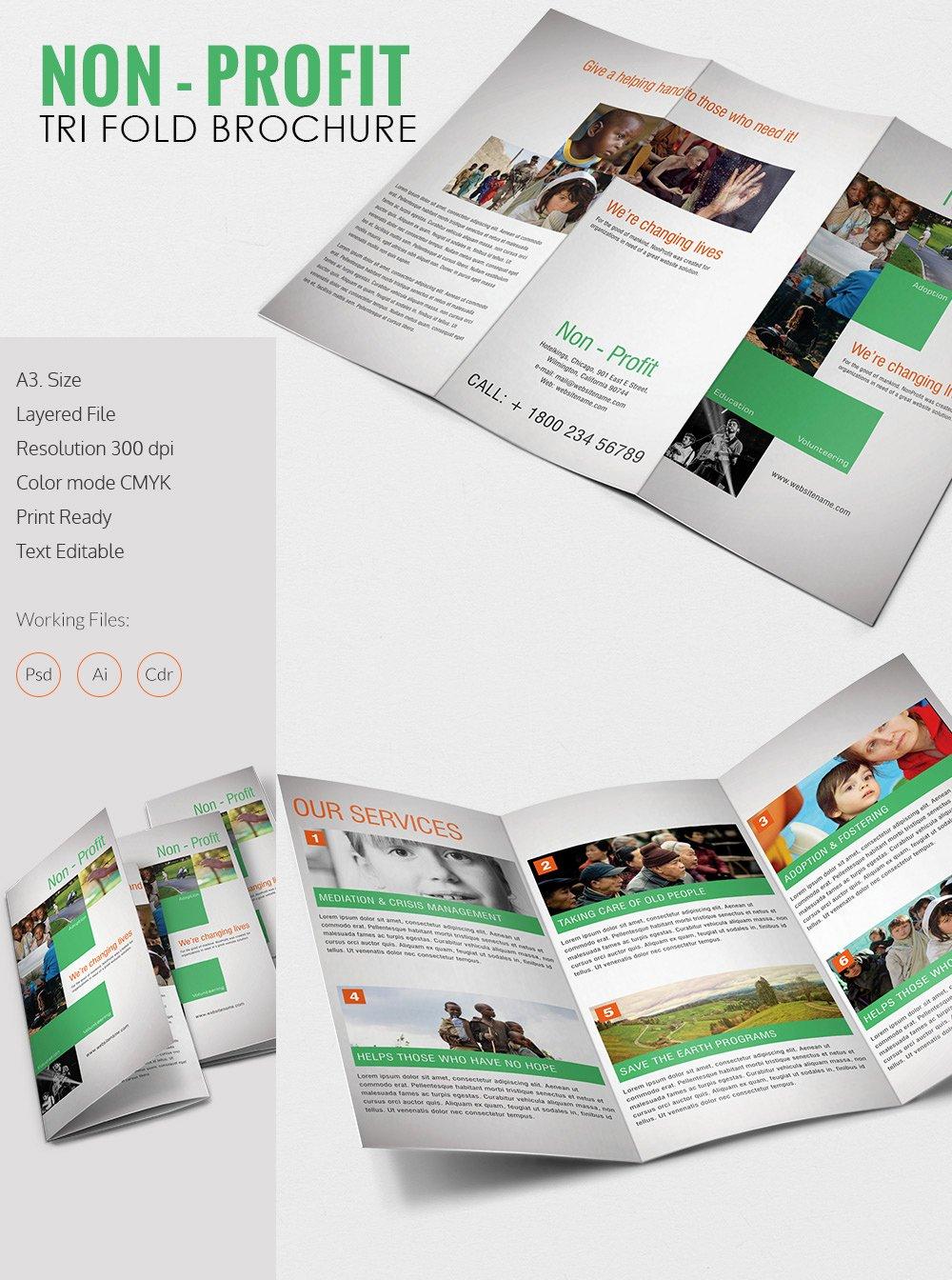 Tri Fold Brochure Free Template Luxury Tri Fold Brochure Template – 45 Free Word Pdf Psd Eps