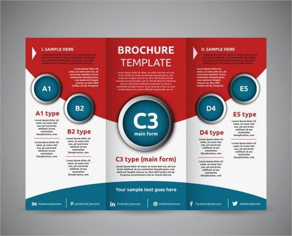 Tri Fold Brochure Free Template Unique 11 Education Tri Fold Brochures Design Templates