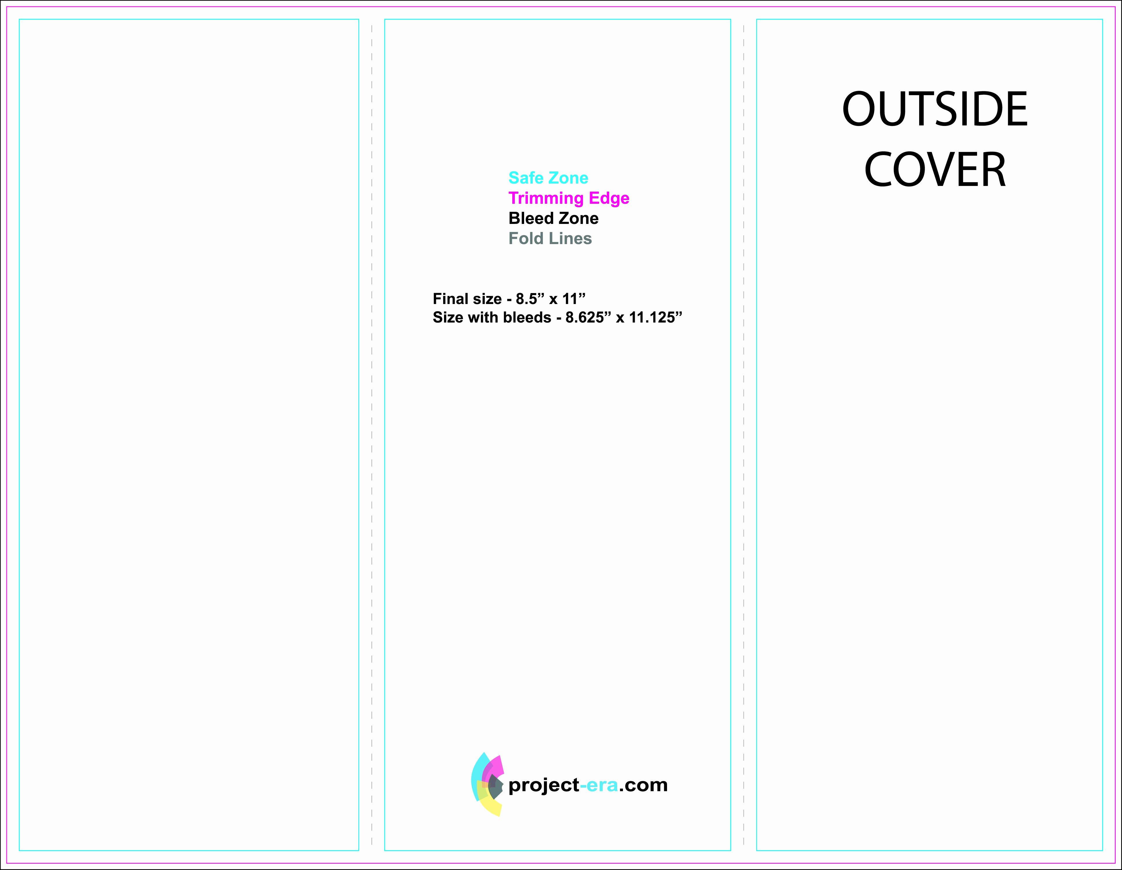 Tri Fold Brochure Free Template Unique Free Printable Tri Fold Brochure Templates