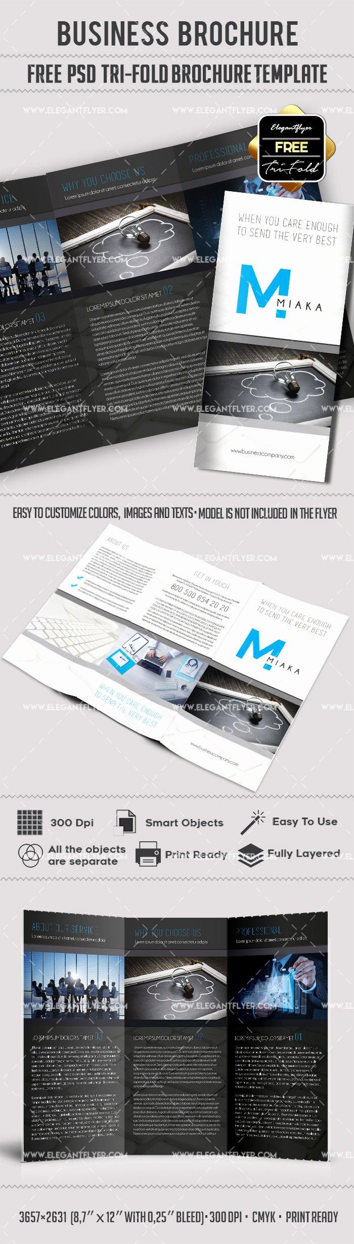 Tri Fold Brochure Free Template Unique Tri Fold Brochure Templates Free – by Elegantflyer