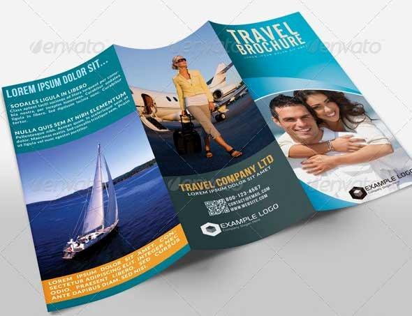 Tri Fold Travel Brochure Template Beautiful 27 Best Travel Brochure Templates