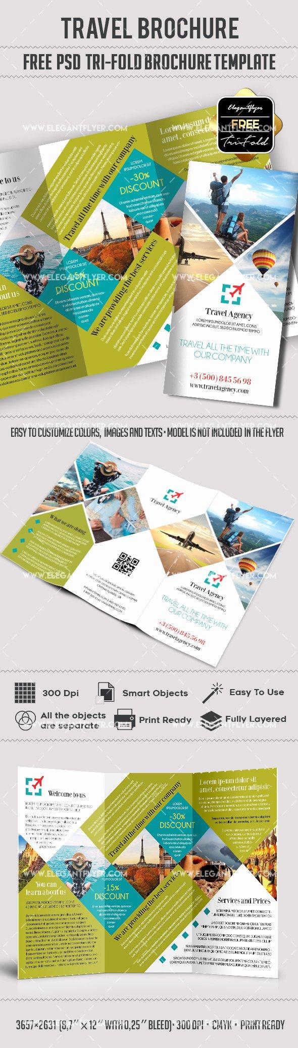 Tri Fold Travel Brochure Template Best Of Travel – Free Psd Tri Fold Psd Brochure Template – by