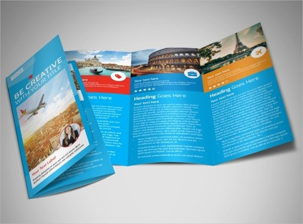 Tri Fold Travel Brochure Template Elegant 30 Travel Brochure Templates Free Psd Ai Eps format