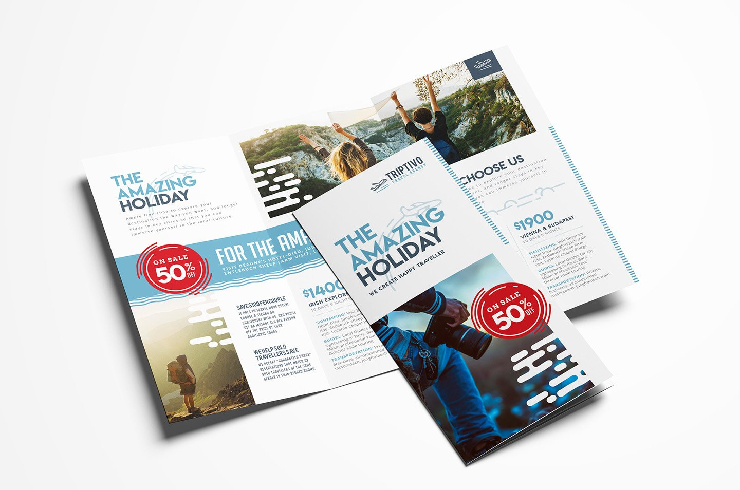 Tri Fold Travel Brochure Template Elegant Travel Pany Trifold Brochure Template In Psd Ai