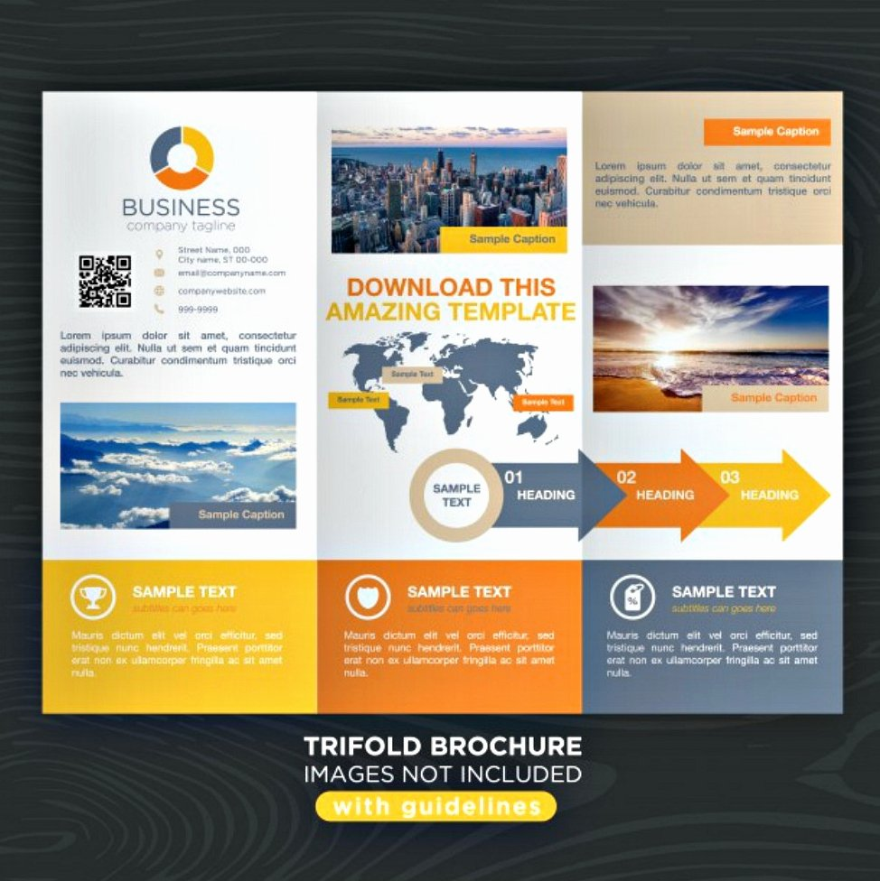 Tri Fold Travel Brochure Template Inspirational 30 Best Brochure Examples Psd Indesign format