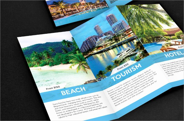 Tri Fold Travel Brochure Template Lovely 41 Tri Fold Brochure Templates