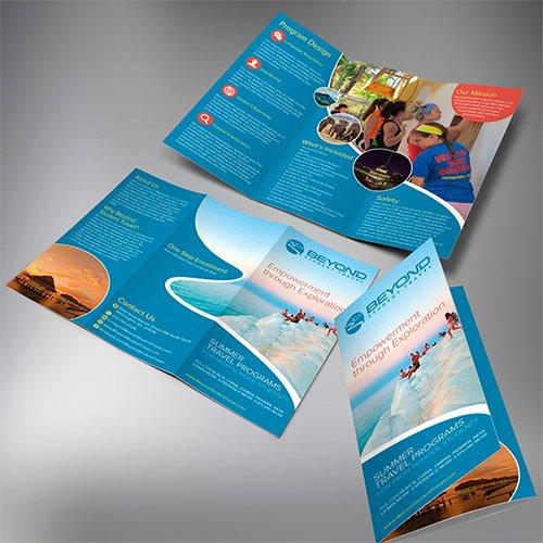 Tri Fold Travel Brochure Template Luxury 30 Creative Examples Of Tri Fold Brochure Designs