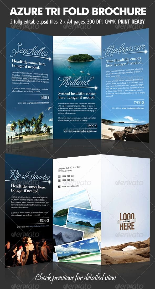 Tri Fold Travel Brochure Template Luxury 48 Best Images About Trifold On Pinterest