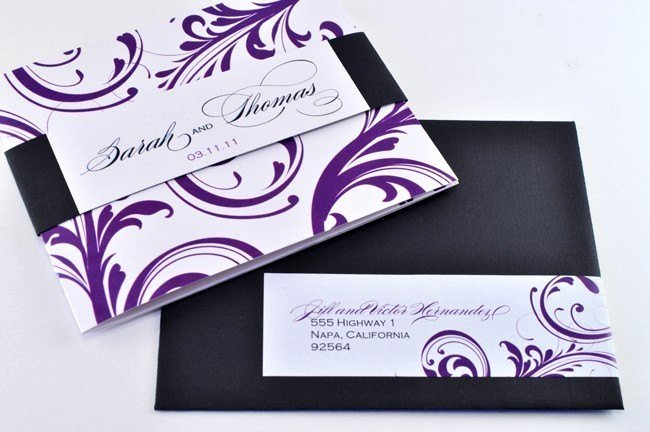 Tri Fold Wedding Invite Template Beautiful New Elegant Tri Fold Wedding Invitation with Perforated Rsvp