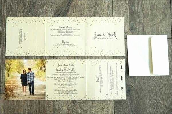 Tri Fold Wedding Invite Template Inspirational 30 Amazing 4x6 Wedding Invitation Template Scheme Resume