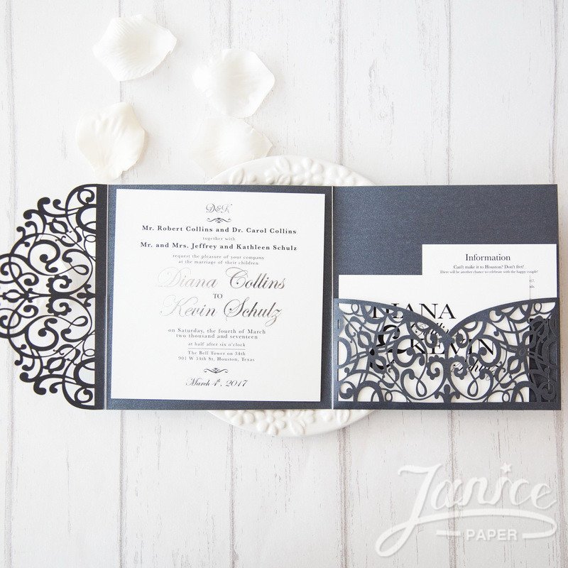 Tri Fold Wedding Invite Template Inspirational Designs Tri Fold Wedding Invitation Template Plus Fol