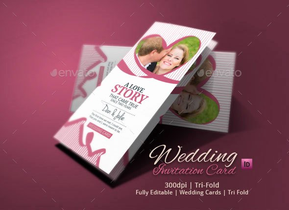 Tri Fold Wedding Invite Template Inspirational Tri Fold Wedding Invitation by Blogankids