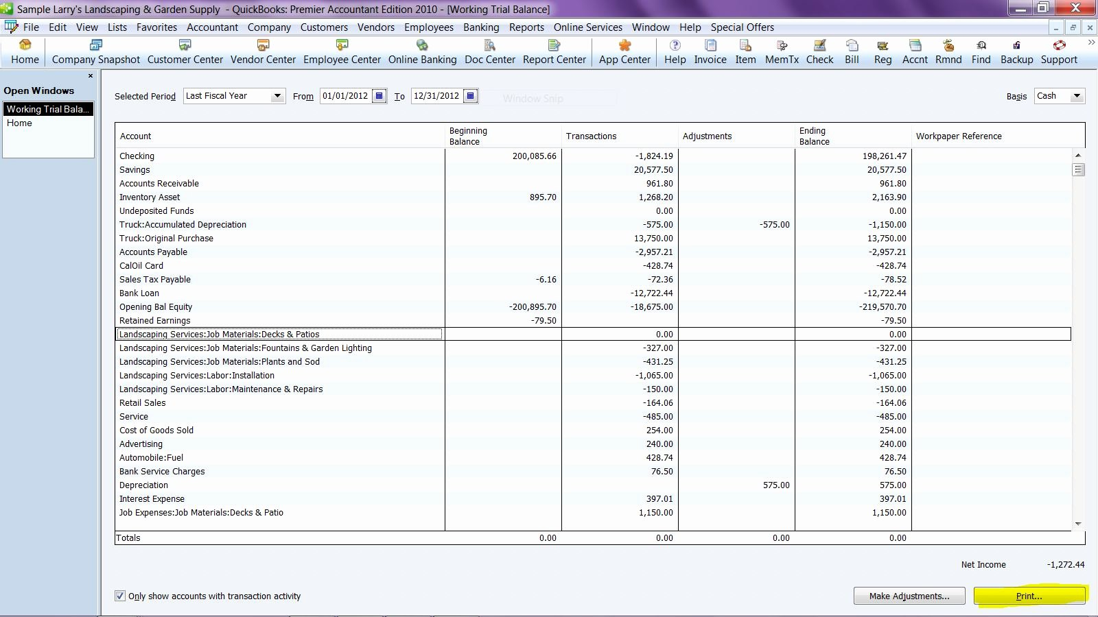 Trial Balance Excel Template Beautiful for the Pro's Export Working Trial Balance to Excel