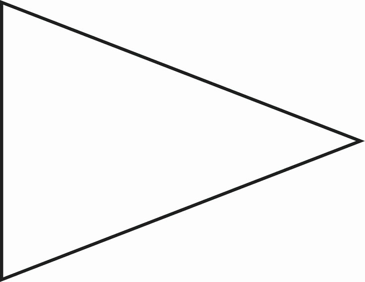 Triangle Banner Template Free Beautiful Free Printable Banner Templates for Word Pennant Template