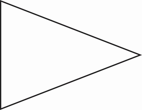 Triangle Banner Template Free Best Of Pin Triangle Flag Outline Clip Art Vector Line Royalty