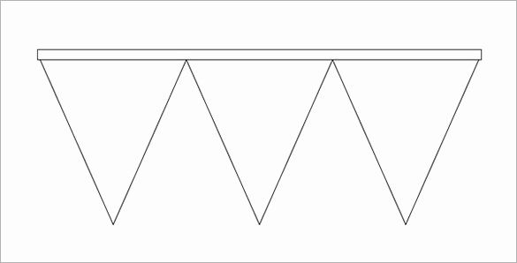 Triangle Banner Template Free Elegant 23 Pennant Banner Templates Psd Ai Vector Eps