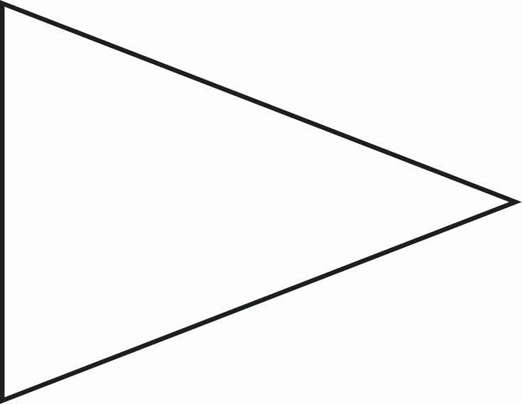 Triangle Banner Template Free Elegant Triangle Flag Banner Vintage Pennant String Bunting