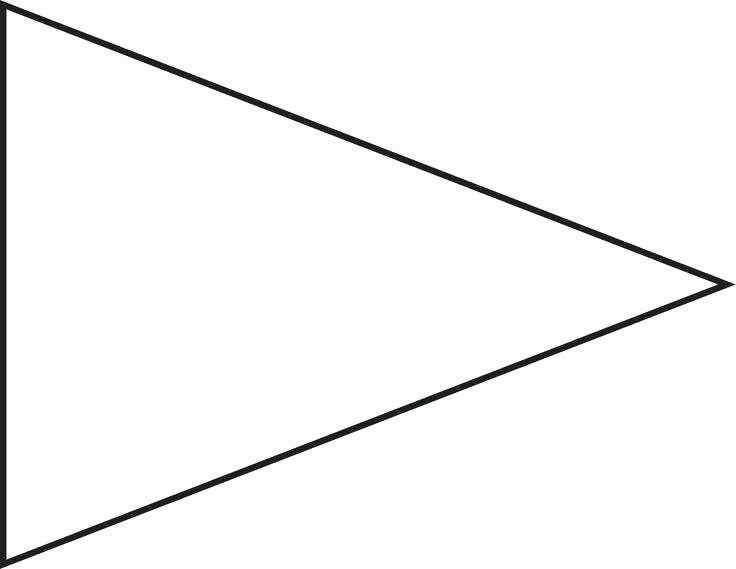 Triangle Banner Template Free Luxury Free Printable College Pennant Template Pennants Flag