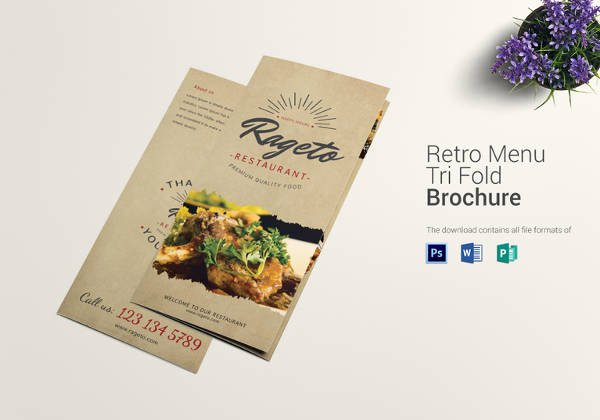 Trifold Menu Template Free Awesome 22 Tri Fold Menu Templates – Free Sample Example format