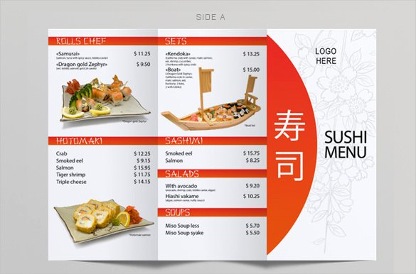Trifold Menu Template Free Awesome 51 Restaurant Menu Templates Design Psd Docs Pages