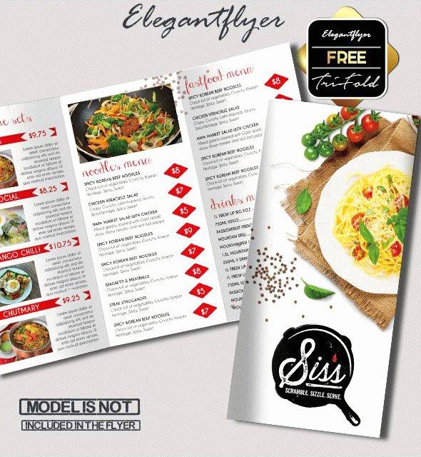 Trifold Menu Template Free Inspirational 69 Premium and Free Psd Tri Fold & Bi Fold Brochures