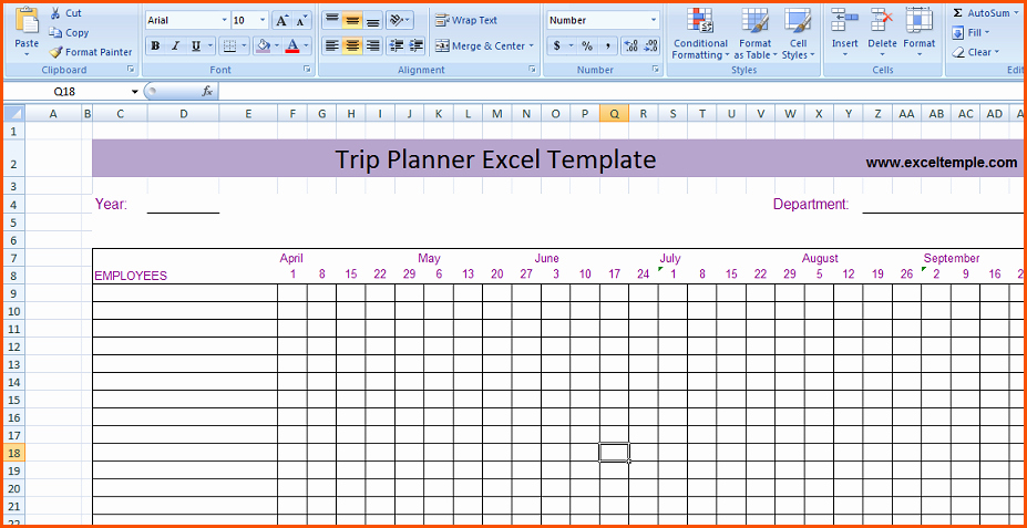 Trip Planner Template Excel Fresh Trip Planner Excel tolg Jcmanagement