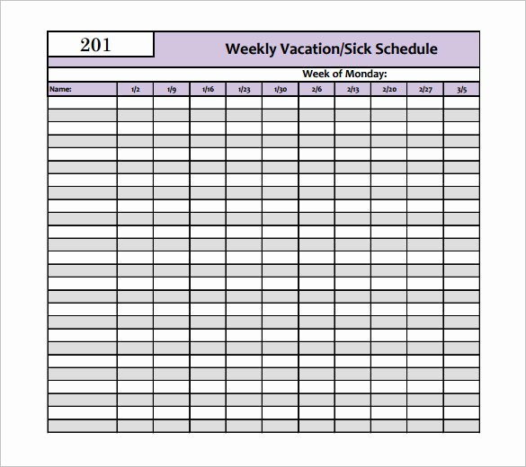 Trip Planner Template Excel Lovely 5 Vacation Schedule Templates Doc Pdf