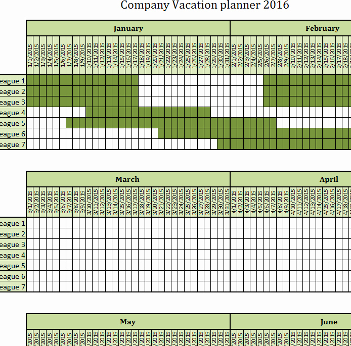 Trip Planner Template Excel Lovely Pany Vacation Planner My Excel Templates